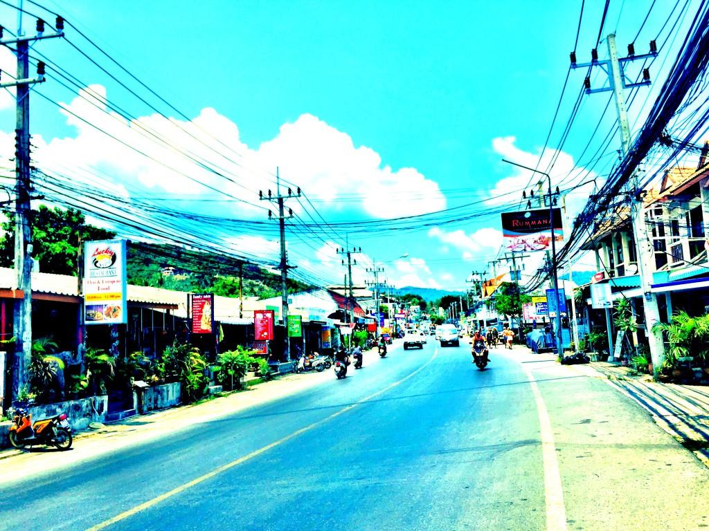 Ko Samui Straßen