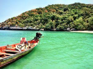 Boat Angthong National Marine Park